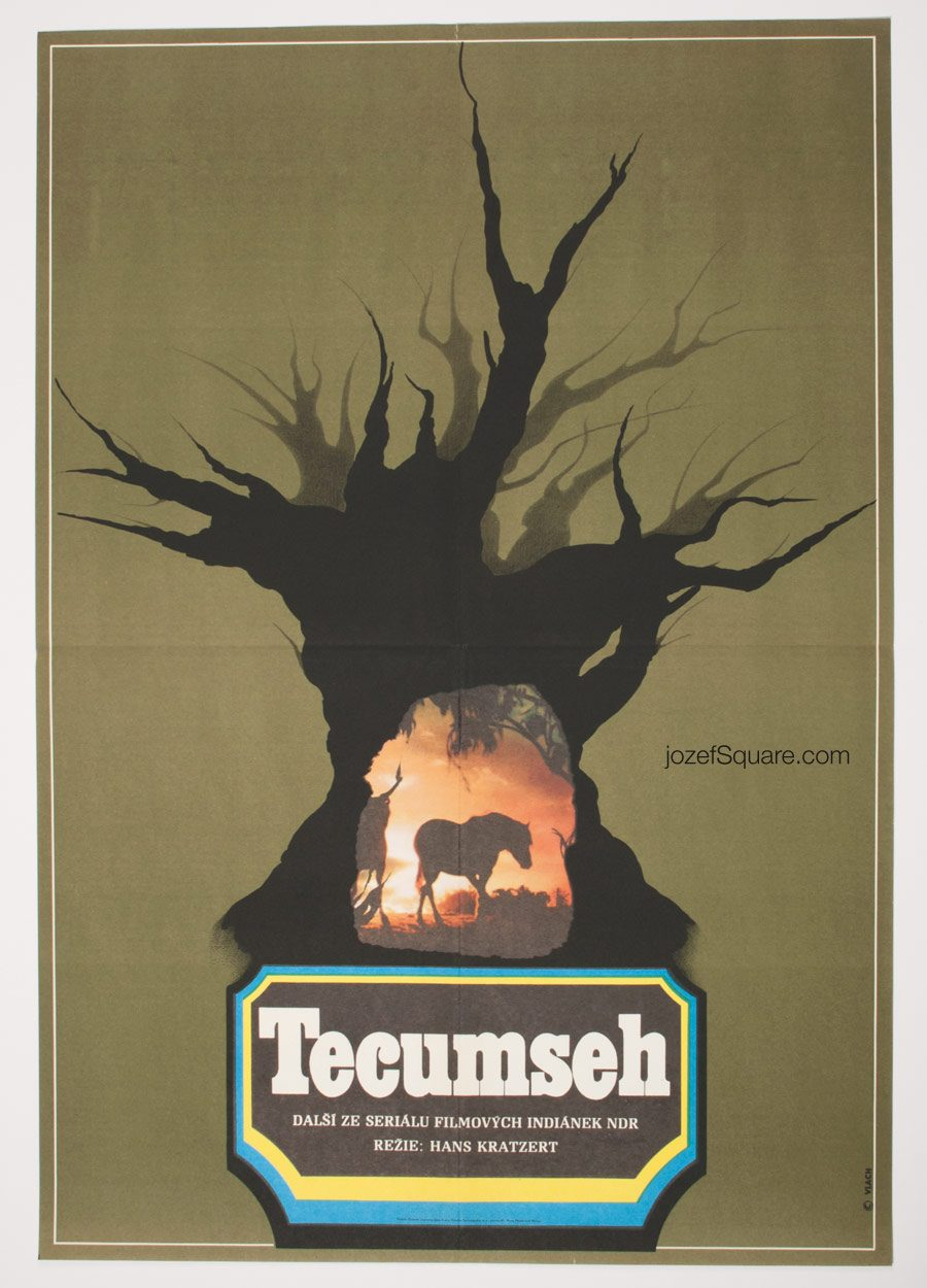 Movie Poster, Tecumseh, Western Poster