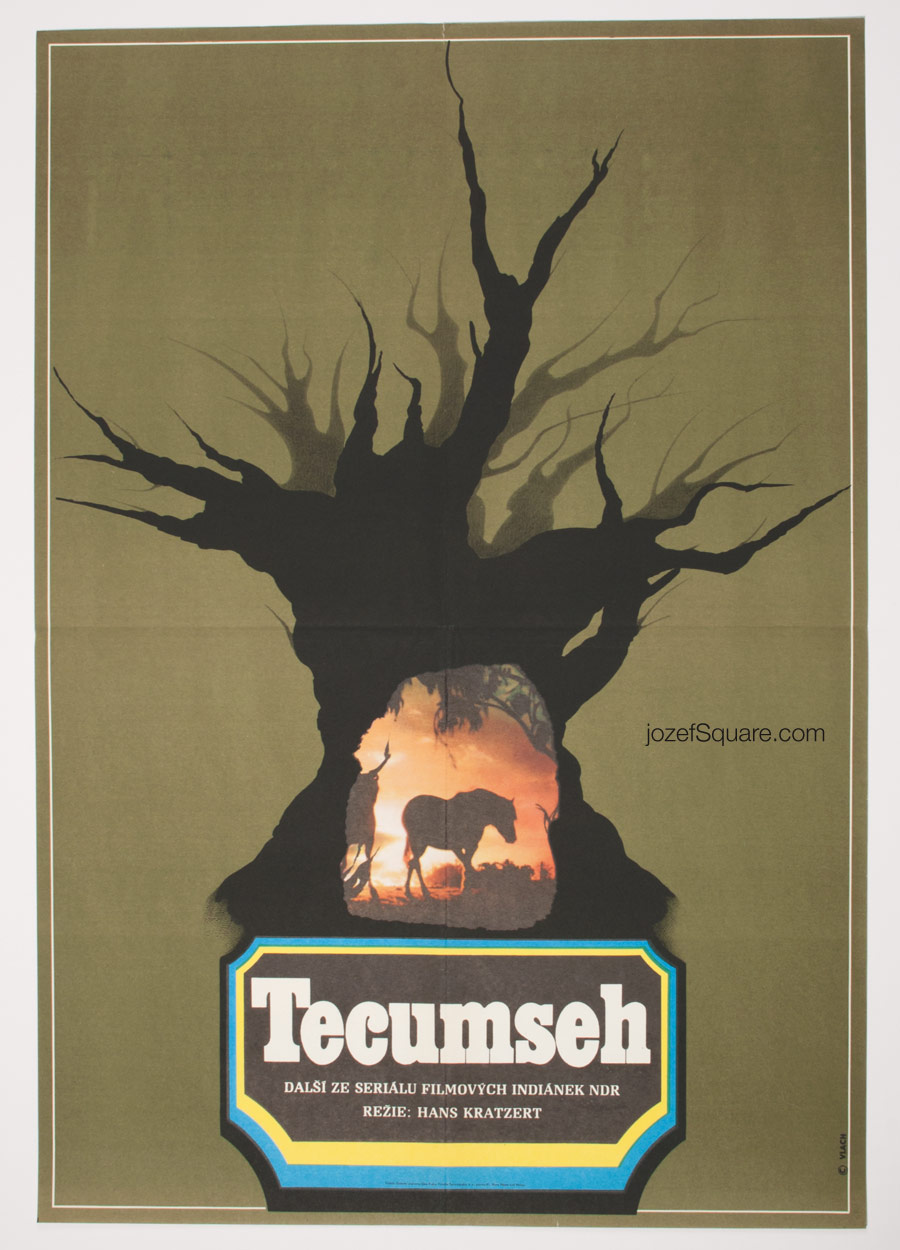 Movie Poster, Tecumseh, Western Poster