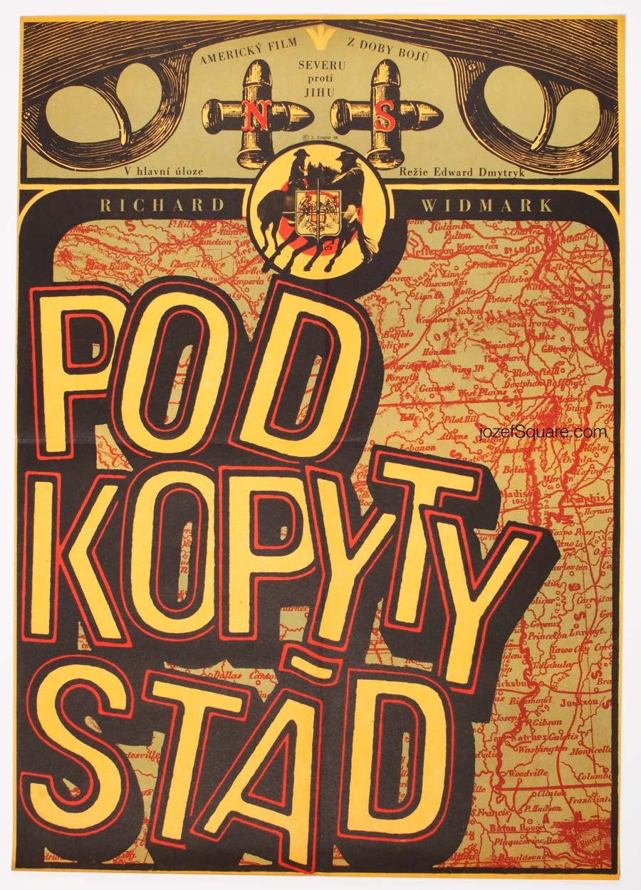 Movie Poster Alvarez Kelly, Western Cinema, 60s Poster Art