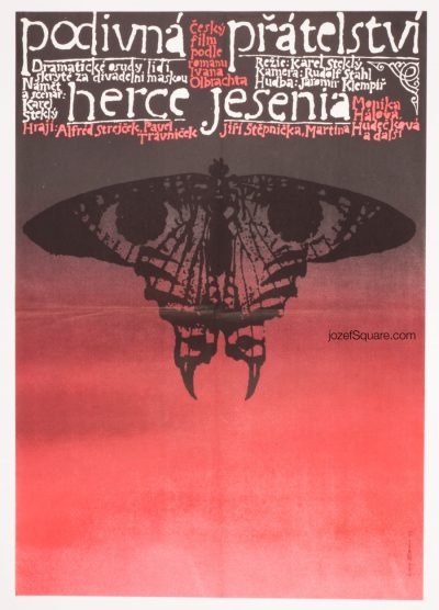Movie Poster, Actor Jesenius' Strange Friendship, Jaroslav Sura
