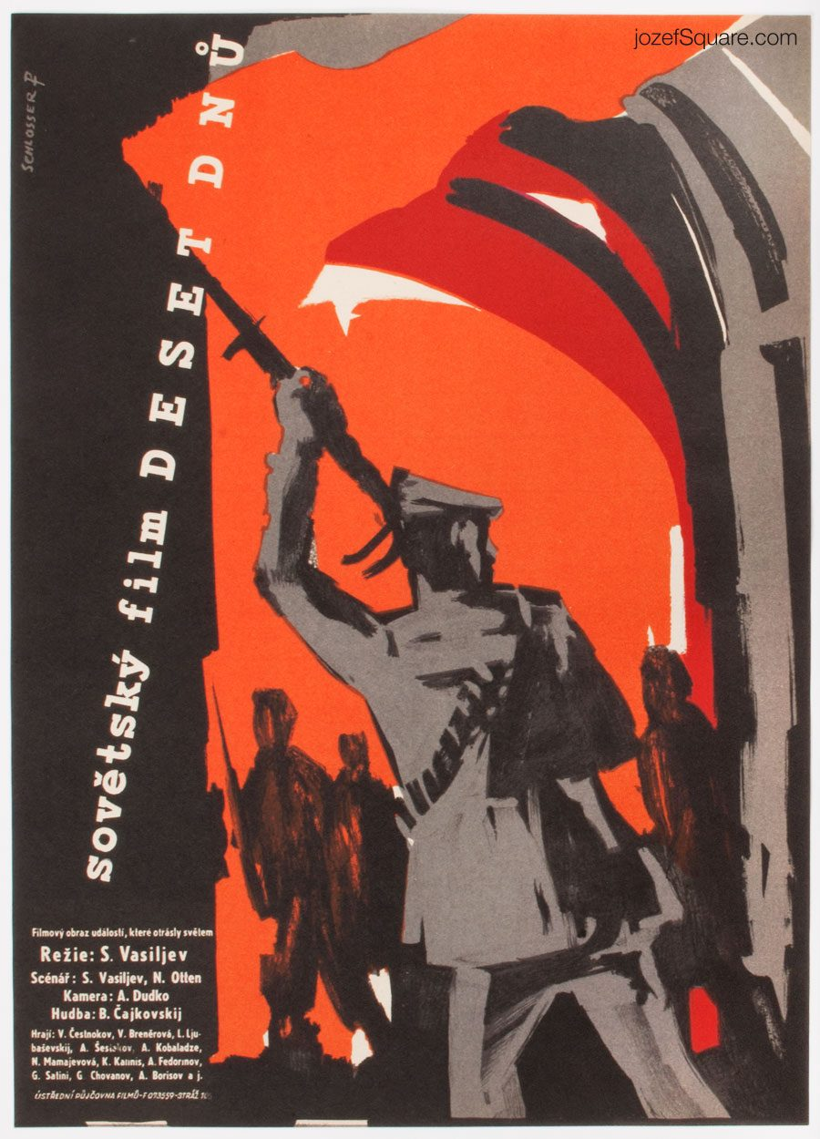 October Days Movie Poster, 50s Cinema Art
