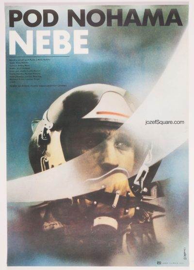 Movie Poster, The Sky Under, Zdenek Ziegler