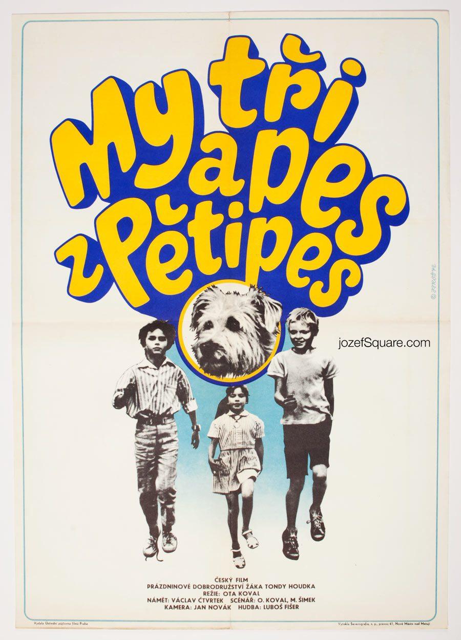 Movie Poster, Us Three and Dog from Petipsy, Alexej Jaros
