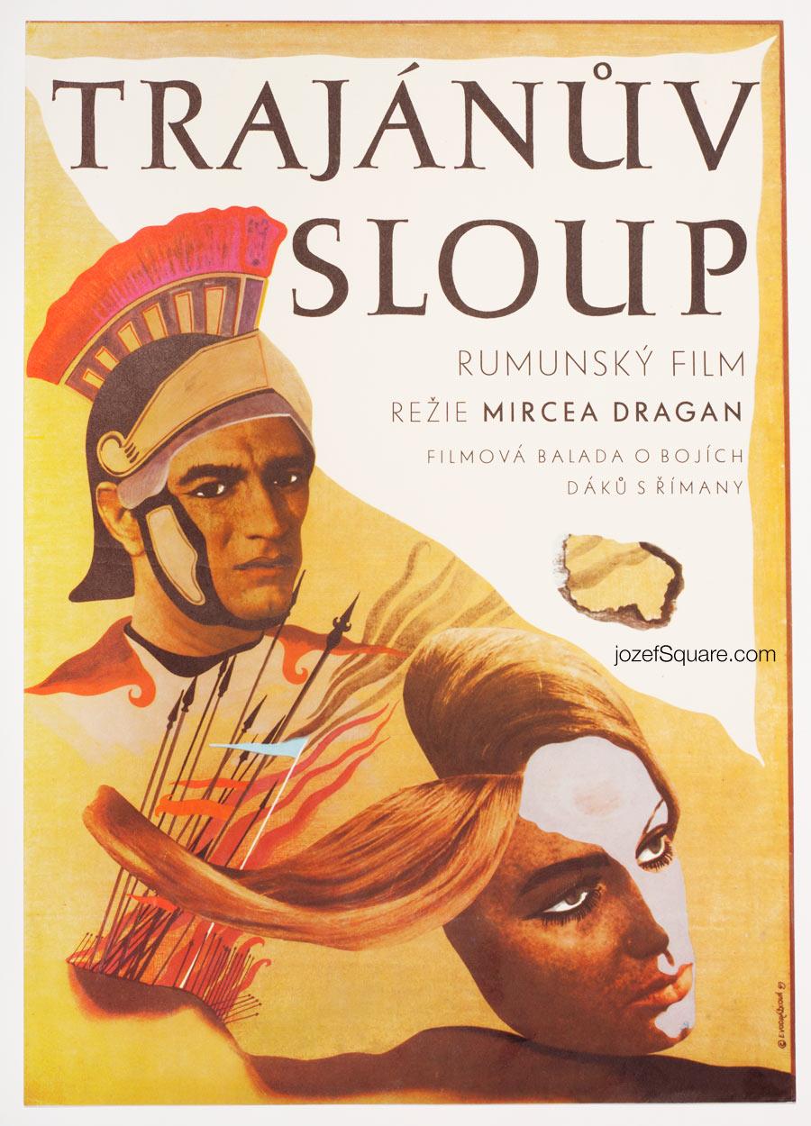 Movie Poster, The Column, 60s Cinema Art