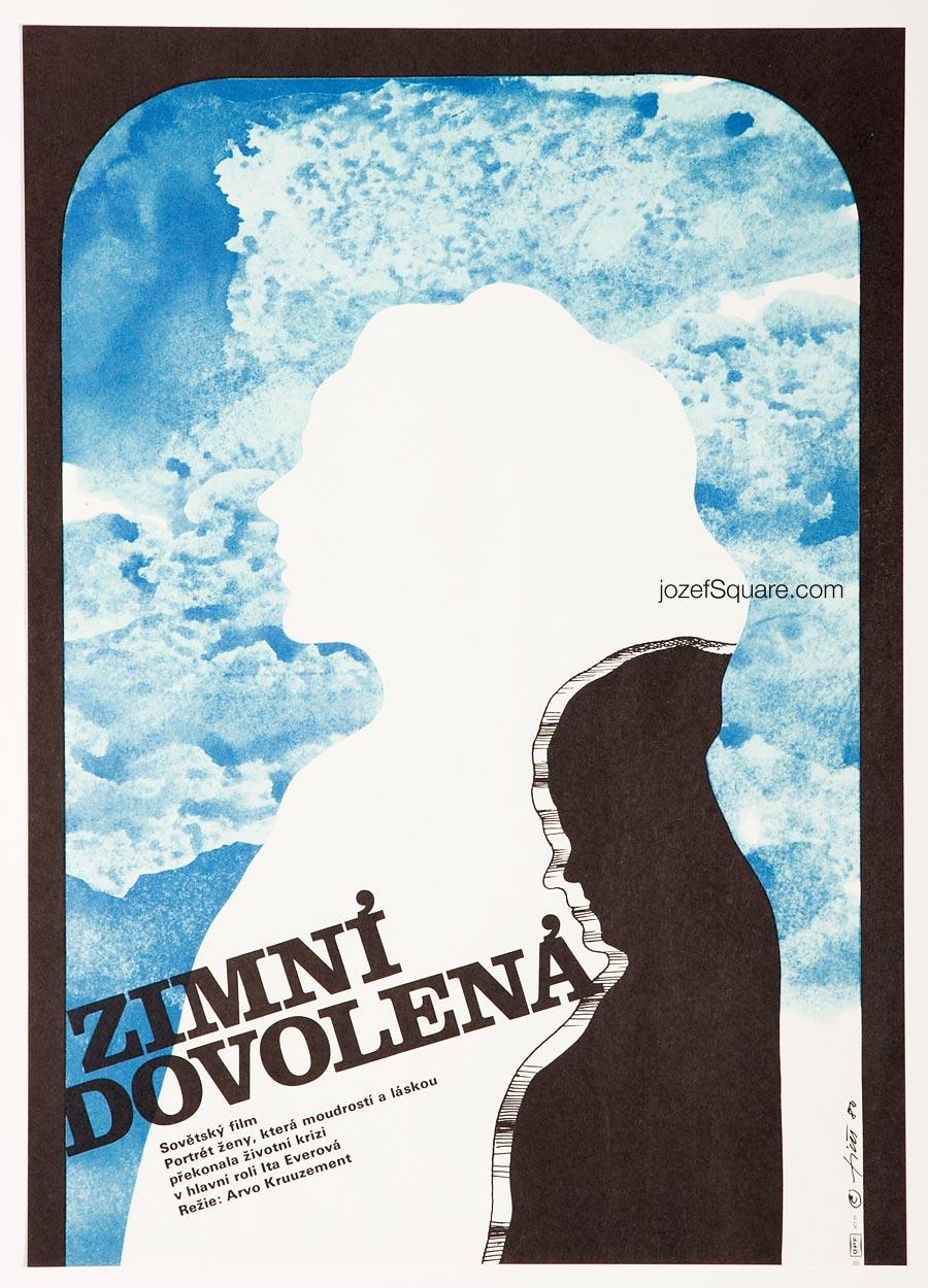 Movie Poster, Winter Holiday, 80s Cinema Art
