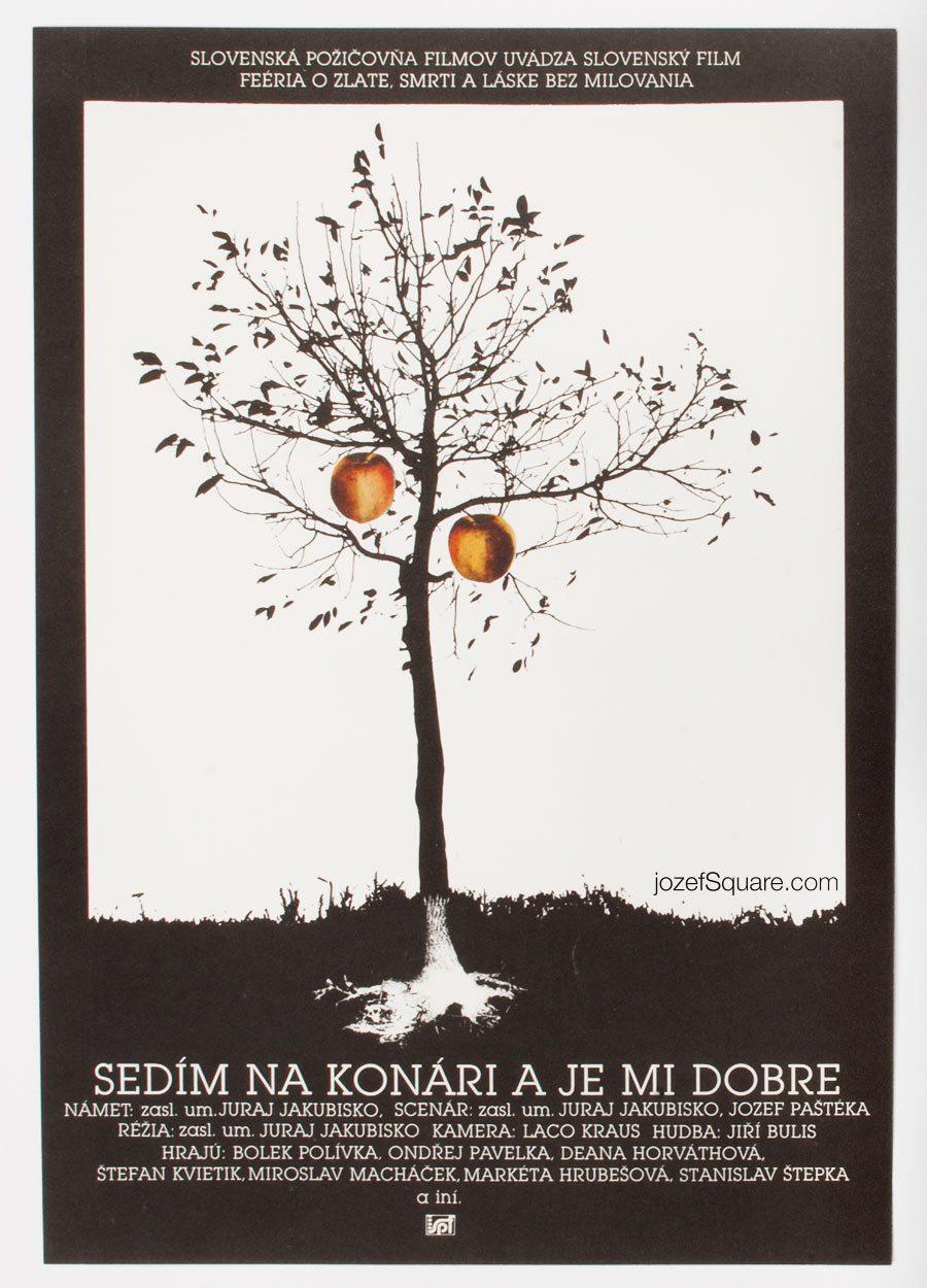 Movie Poster, Sitting on a Branch, Enjoying Myself, Juraj Jakubisko