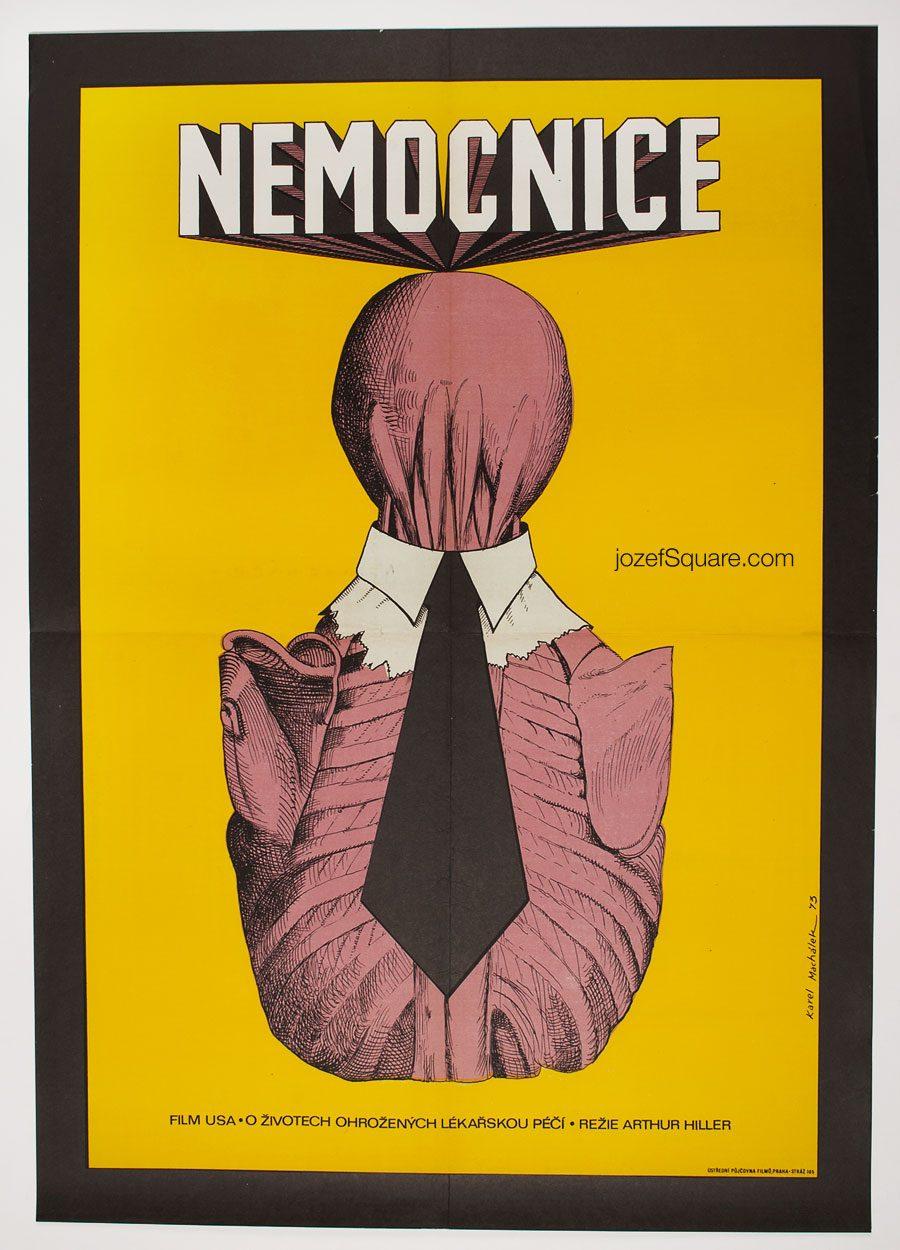 Movie Poster, The Hospital, Karel Machalek