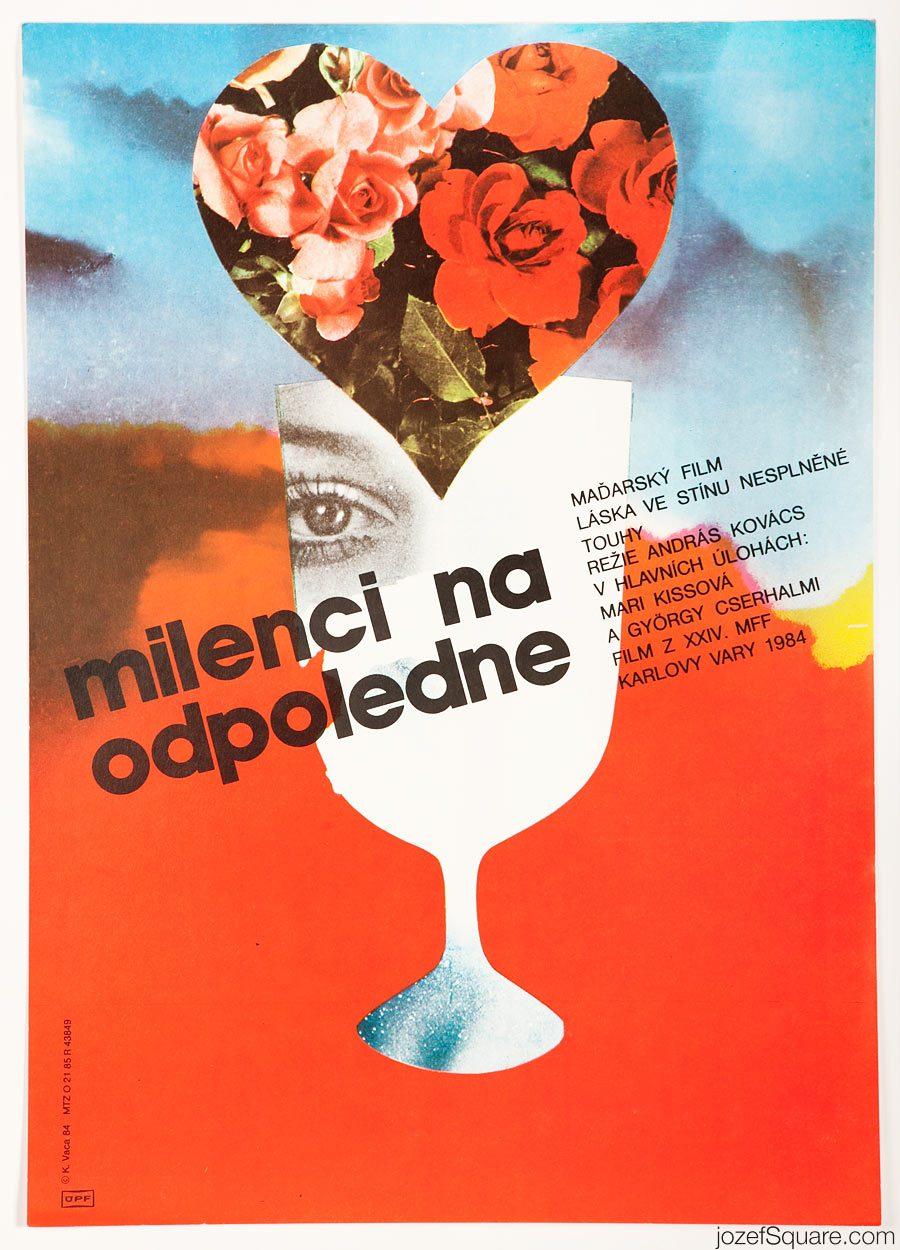 Movie Poster, Afternoon Affair, 80s Cinema Art