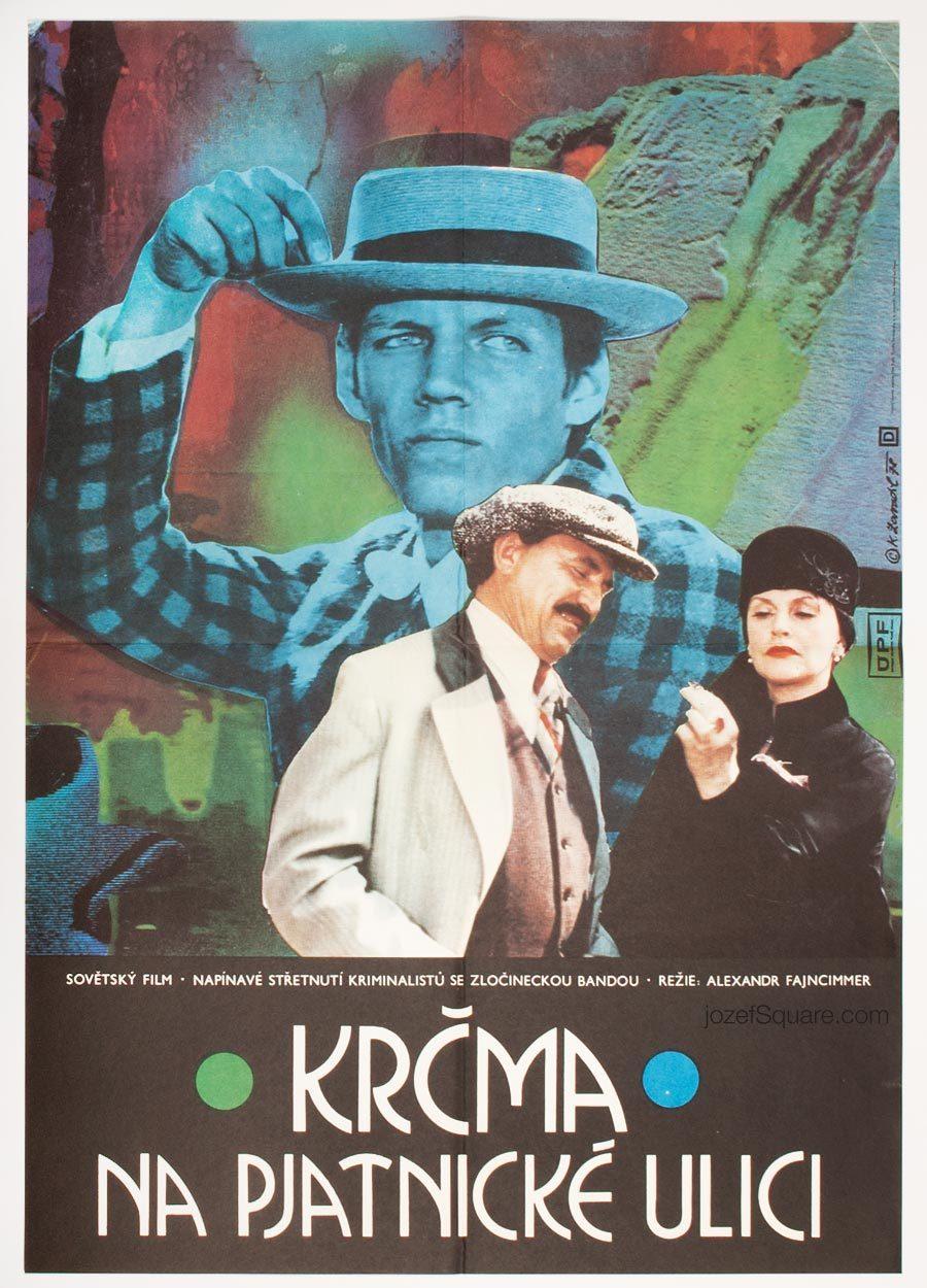 Movie Poster, The Eating-house on Pyatnitskaya, Karel Zavadil