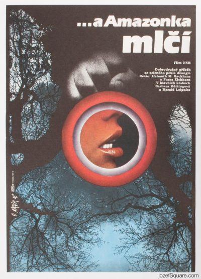 Movie Poster, River of Evil, Martin Dyrynk