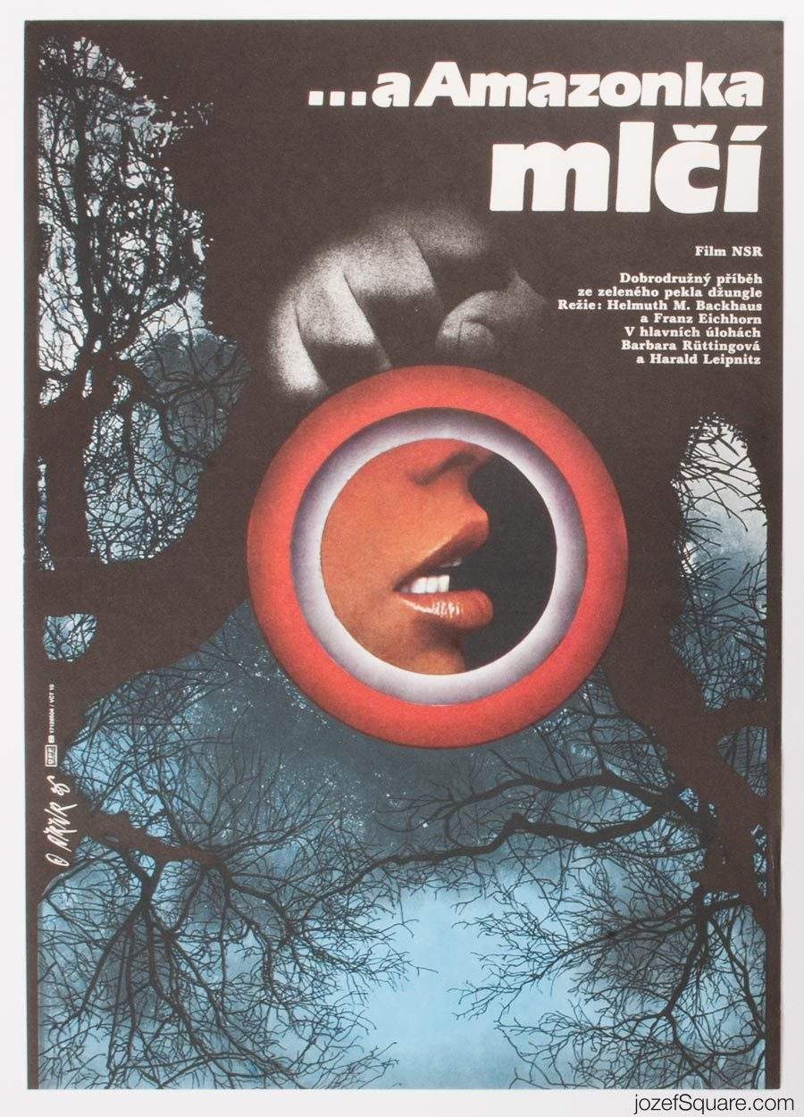 Movie Poster, River of Evil, Martin Dyrynk