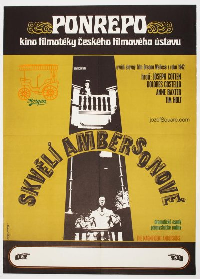 Movie Poster, The Magnificent Ambersons, Orson Welles
