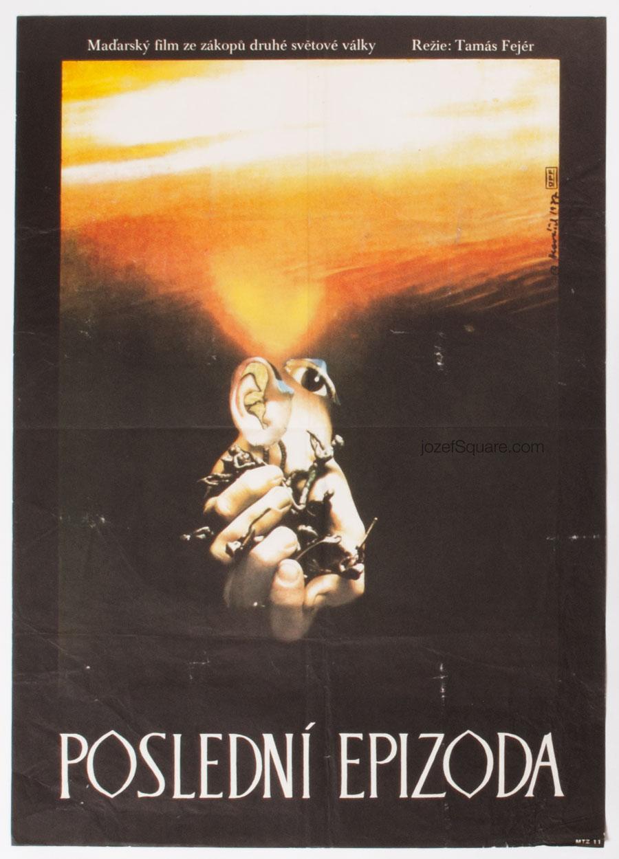 Movie Poster, Northern Crusades, 70s Cinema Art