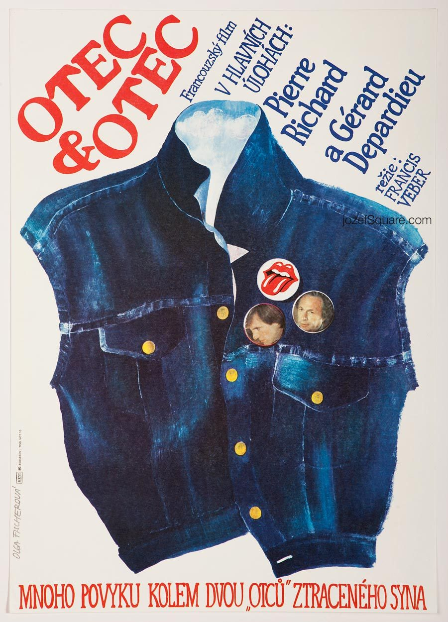 Movie Poster, The ComDads, 80s Cinema Art