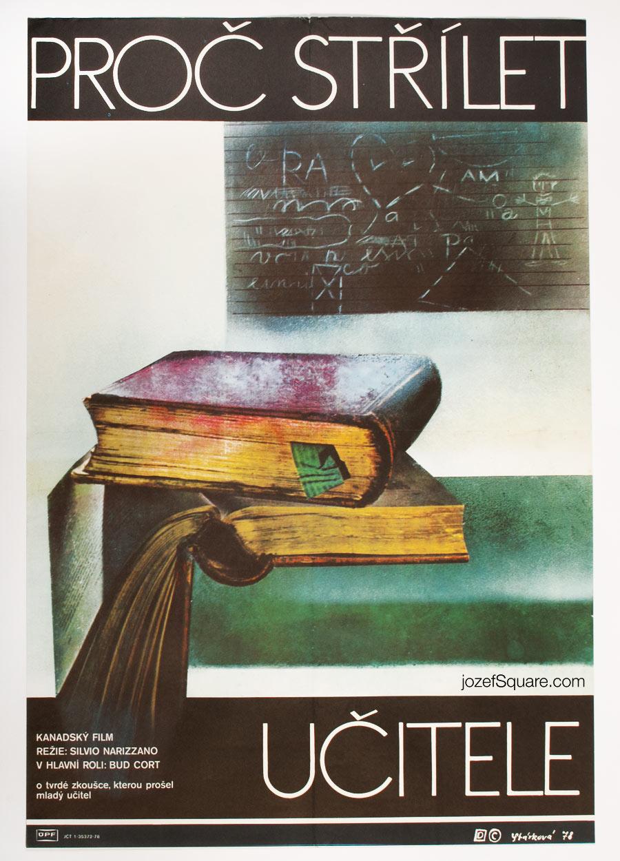 Movie Poster, Why Shoot the Teacher, 70s Cinema Art