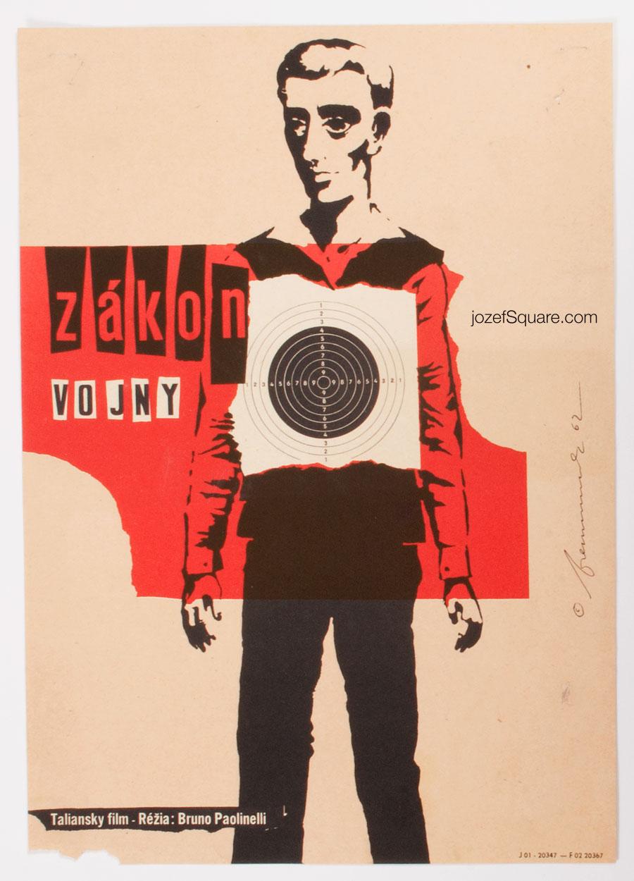 Movie Poster, Law of War, Richard Fremund
