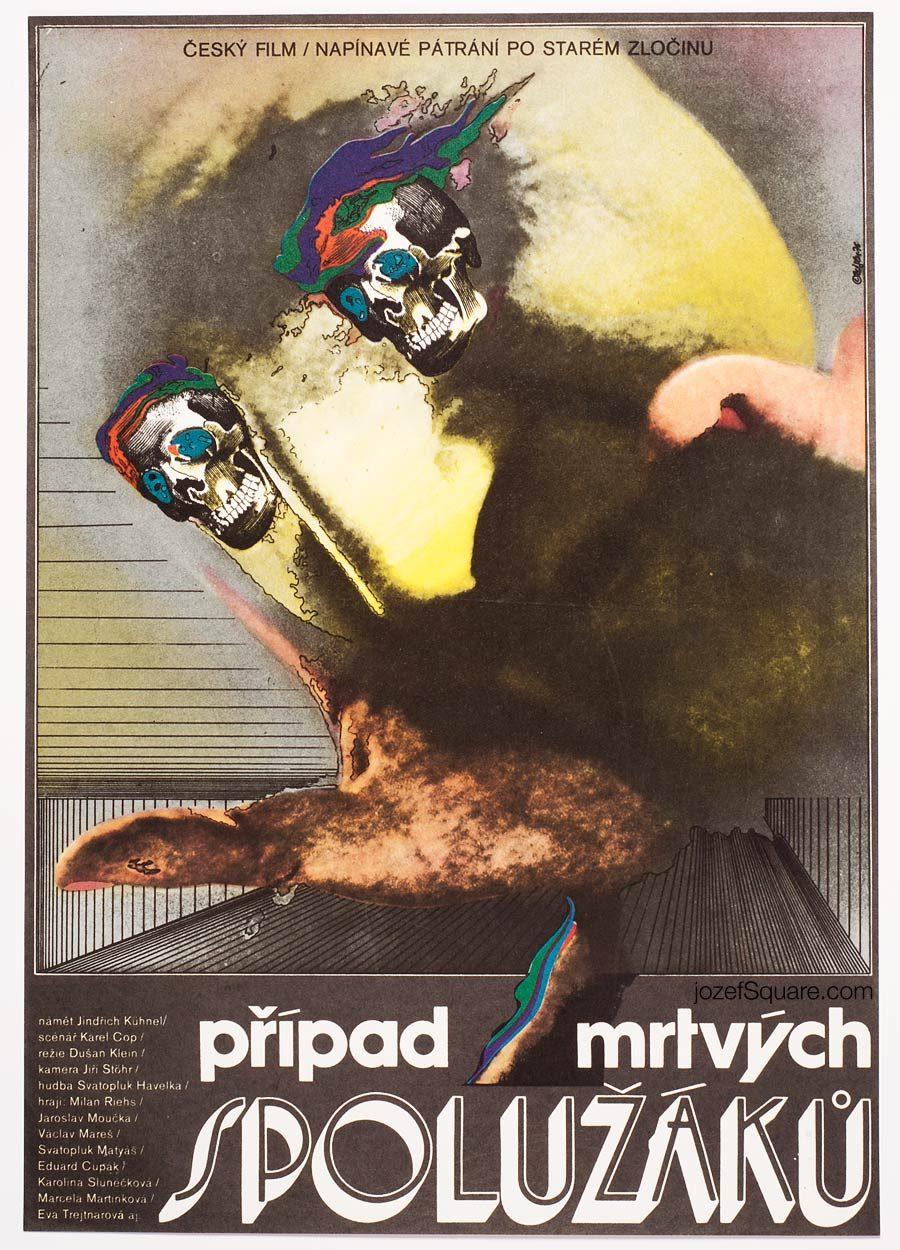 Movie Poster, The Dead Schoolmate, Zdenek Ziegler