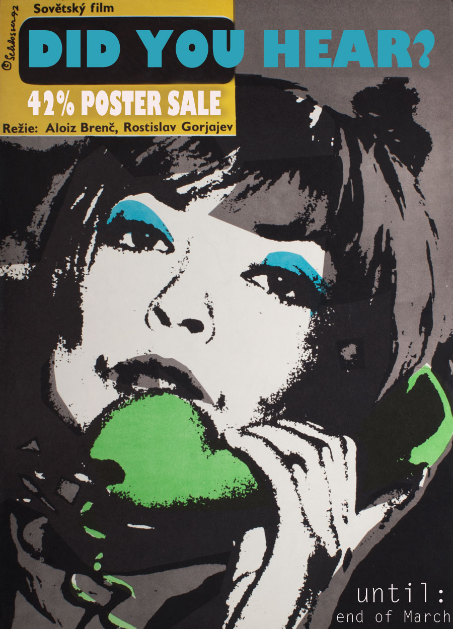 Poster Sale, Spring Art Sales