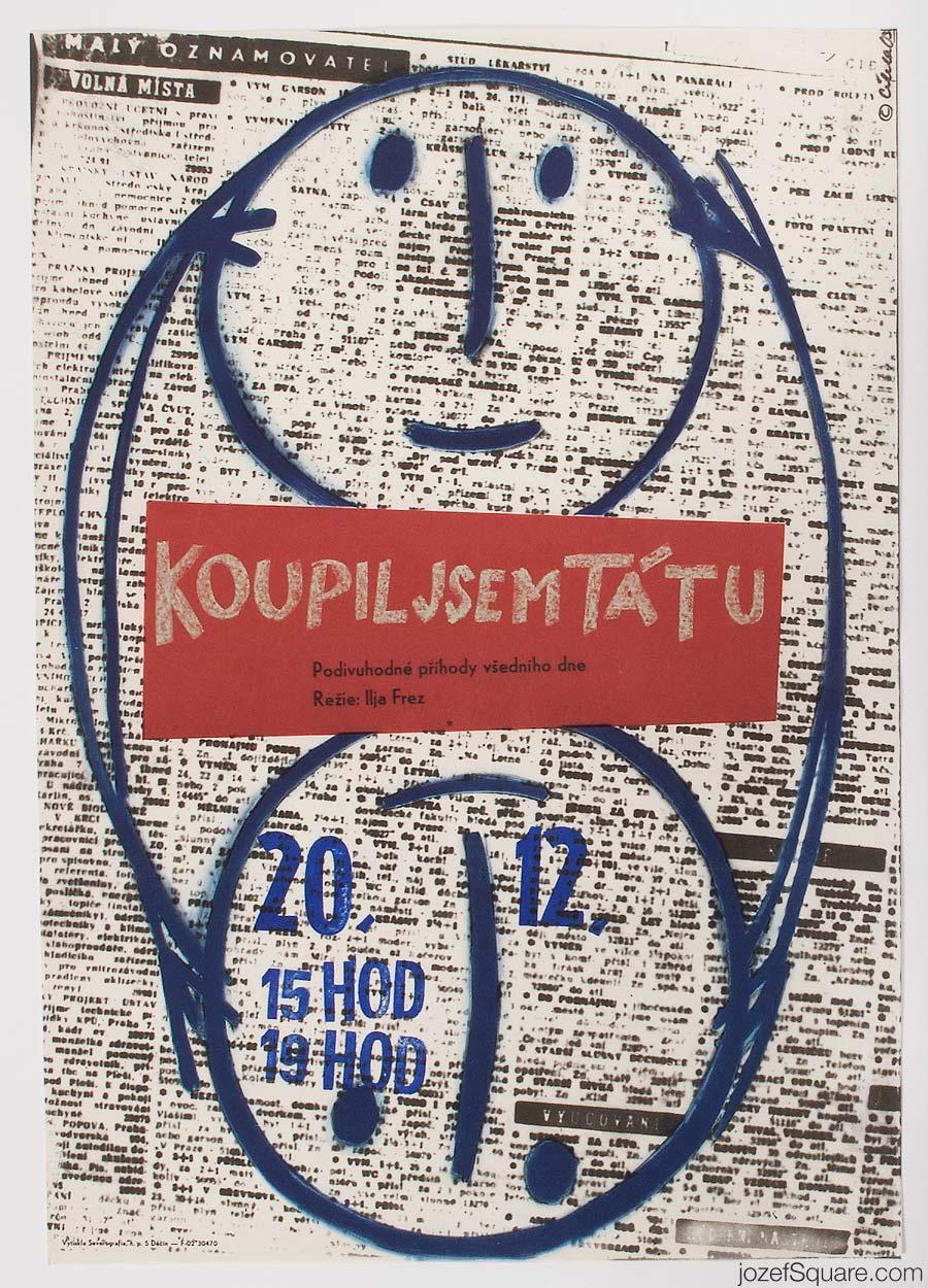Movie Poster, Dimka, 60s Cinema Art