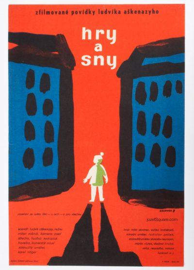 50s Movie Poster, Games and Dreams, Frantisek Zelenka
