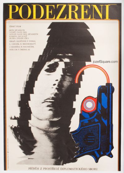 Movie Poster, Suspicion, Milan Grygar