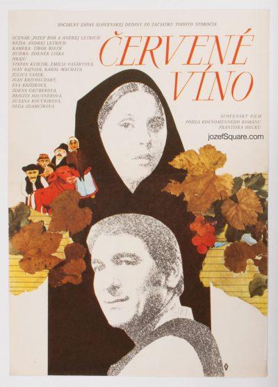 Movie Poster, Red Wine, Andrej Lettrich