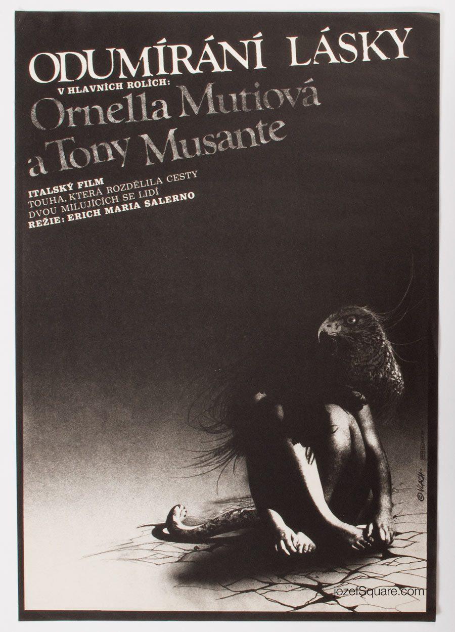 Movie Poster, Break Up, Ornella Muti, 80s Cinema Art