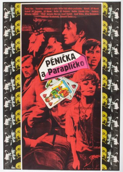 Movie Poster, Burglar and Umbrella, Zdenek Ziegler