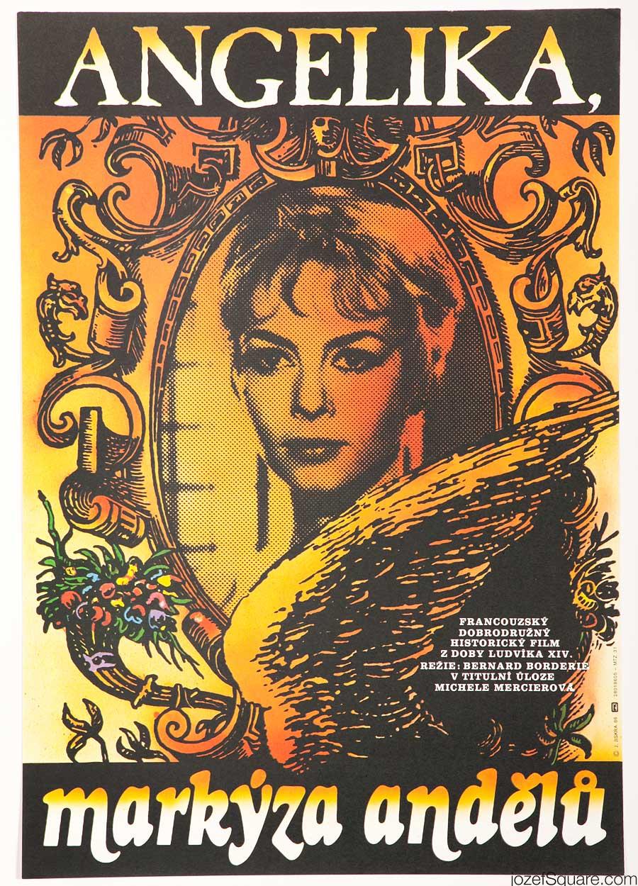 Movie Poster, Angelique, 80s Cinema Art