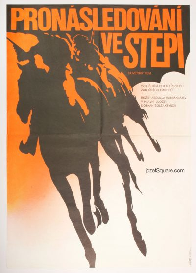 Movie Poster, Pursuit in the Steppe, Jan Weber