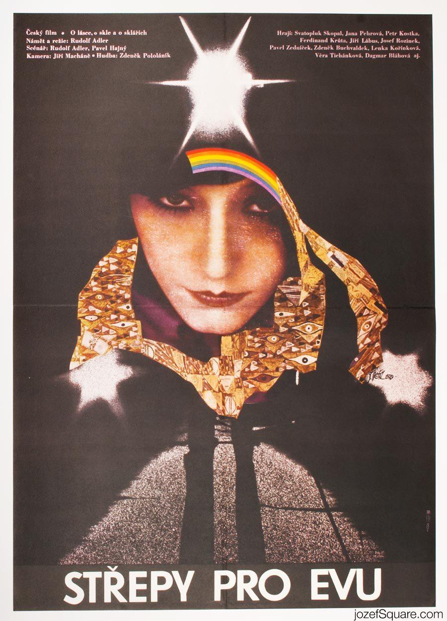 Movie Poster, Broken Glass for Eve, Josef Vyletal