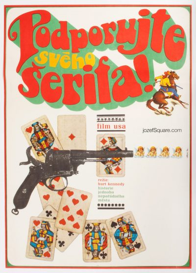 Western Movie Poster, Support Your Local Sheriff!, Burt Kennedy