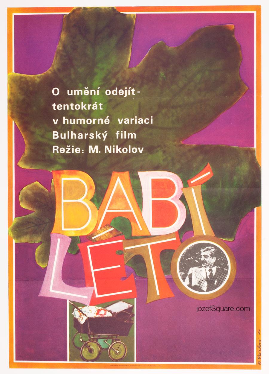 Movie Poster, Indian Summer, 70s Cinema Art