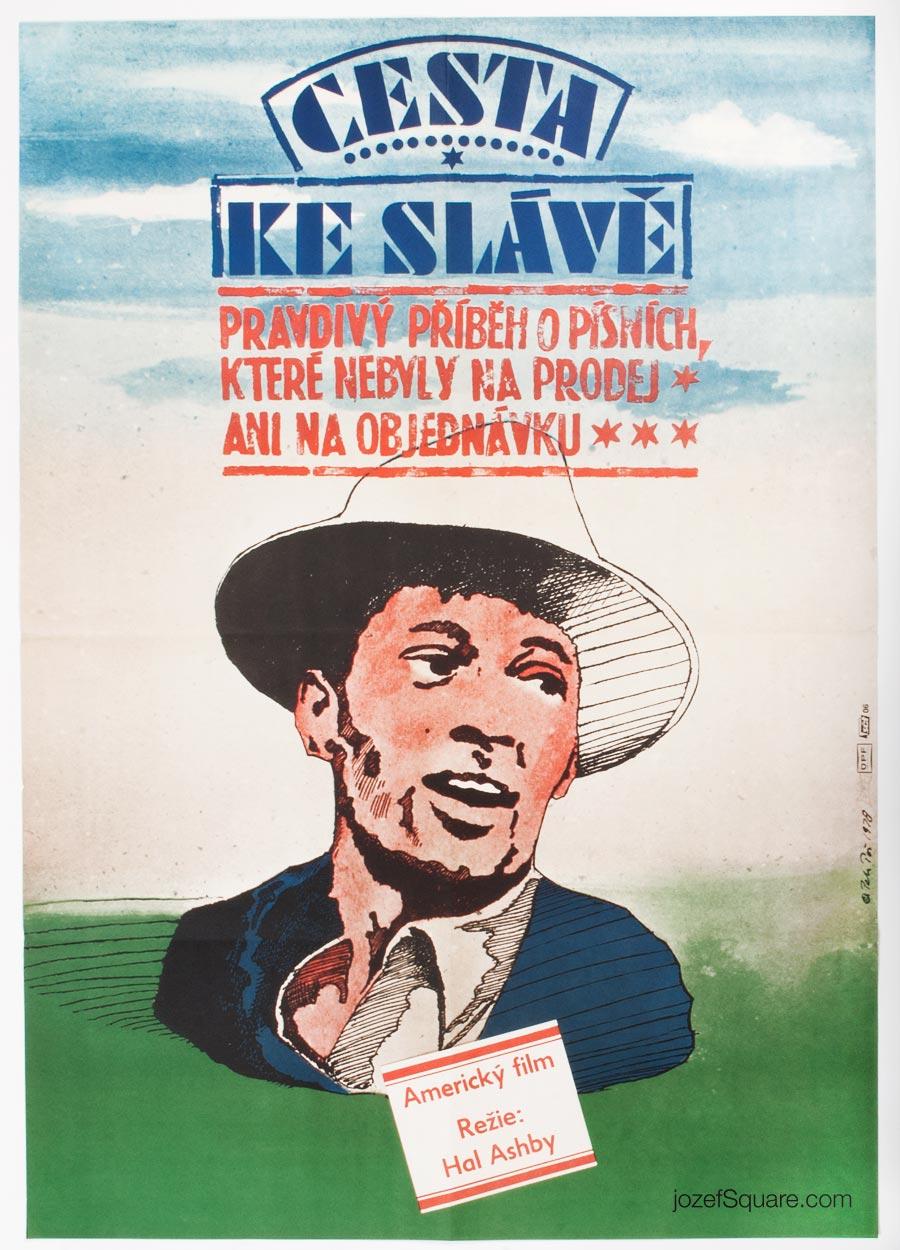 Movie Poster, Bound for Glory, 70s Cinema Art