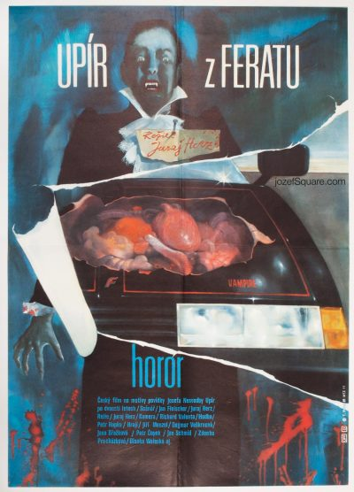 Movie Poster, Ferat Vampire, Juraj Herz