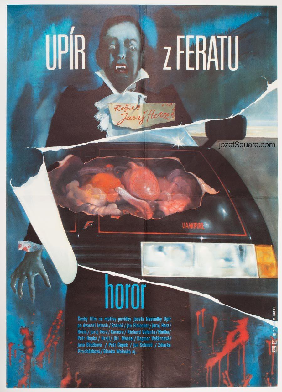 Movie Poster, Ferat Vampire, Juraj Herz