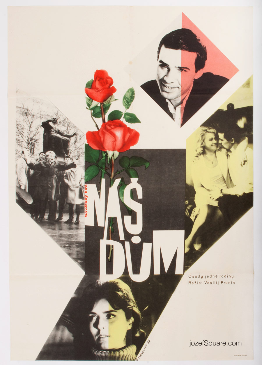 Movie Poster, Our House, 60s Cinema Art