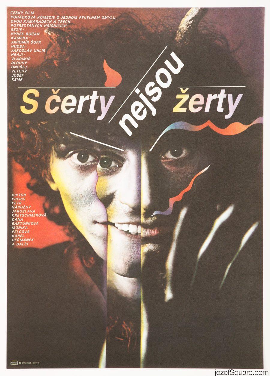 Movie Poster, Give the Devil His Due, Zdenek Ziegler