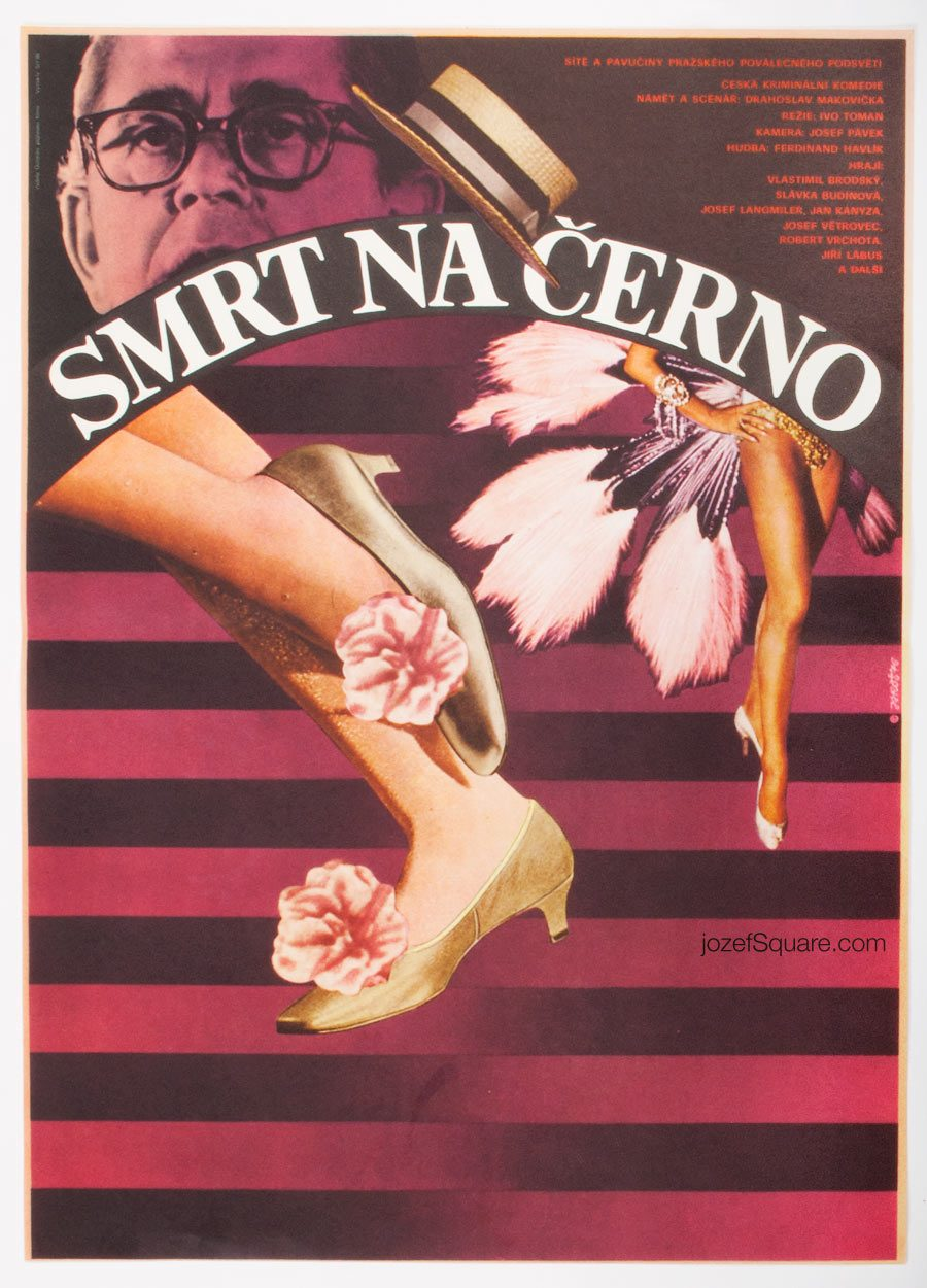 Movie Poster, Black Market Death, 70s Cinema Art