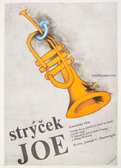 Movie Poster, Uncle Joe Shannon, 80s Cinema Art