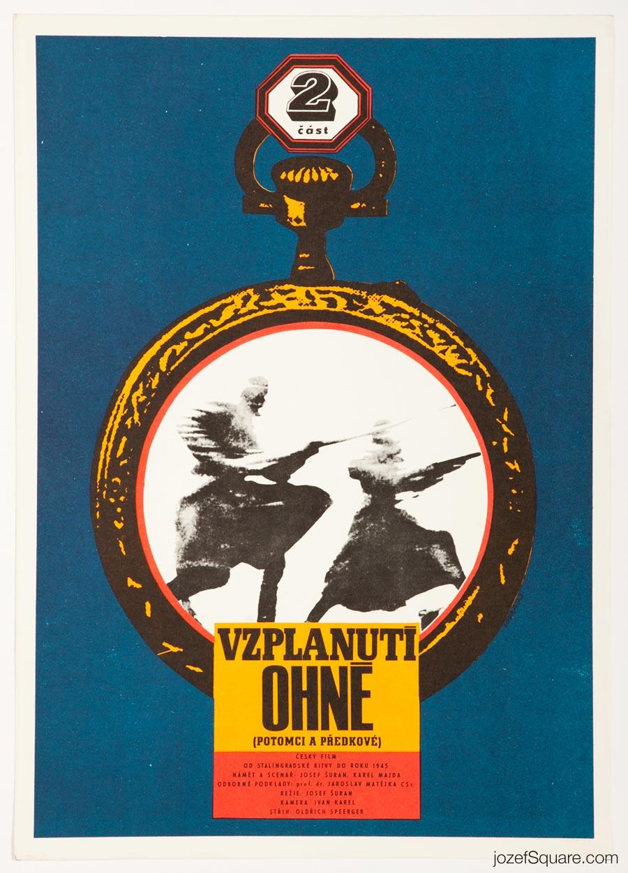 Movie Poster, Descendants and Ancestors, Karel Vaca
