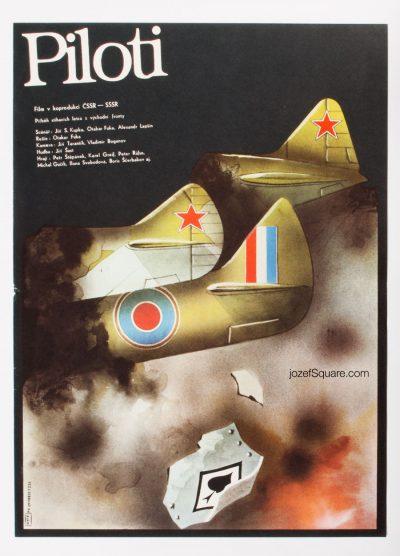 Movie Poster, Pilots, Karel Vaca