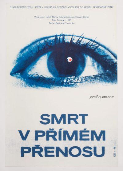 Movie Poster, , Death Watch, 80s Cinema Art
