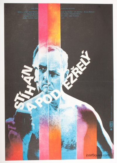 Movie Poster, Sought and Suspect, Zdenek Ziegler