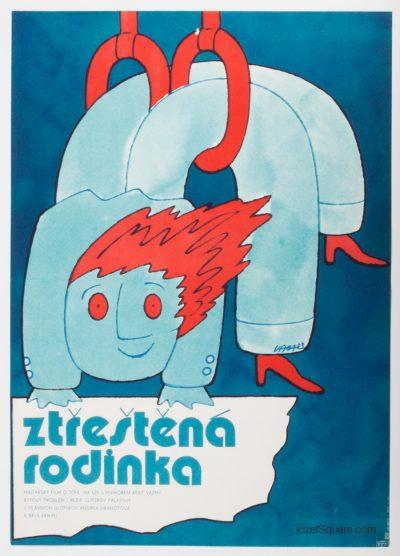 Movie Poster, A Harum-Scarum Family, Karel Vaca