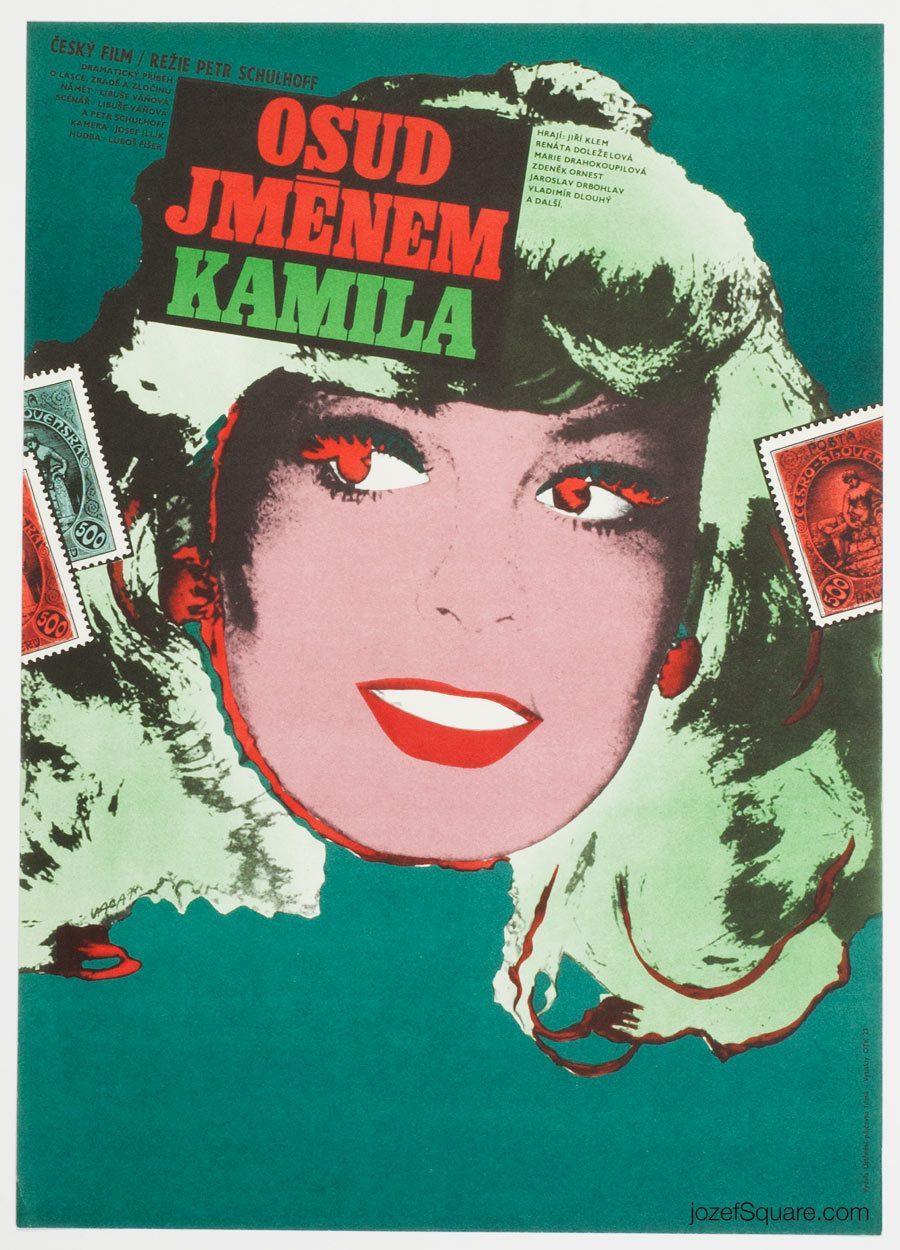 Movie Poster, Fate Named Kamila, Karel Vaca