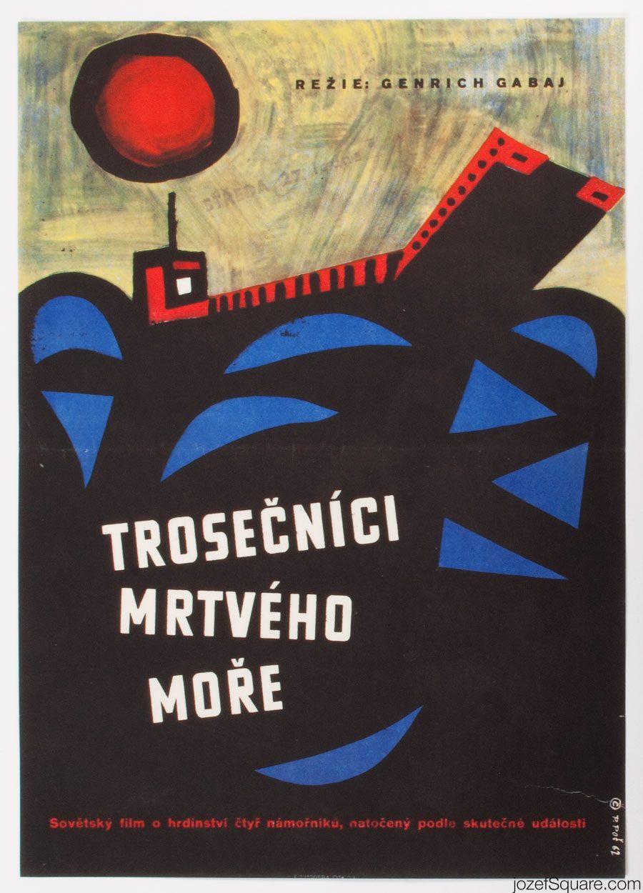 Movie Poster, 49 Days, Petr Pos, , 60s Cinema Art