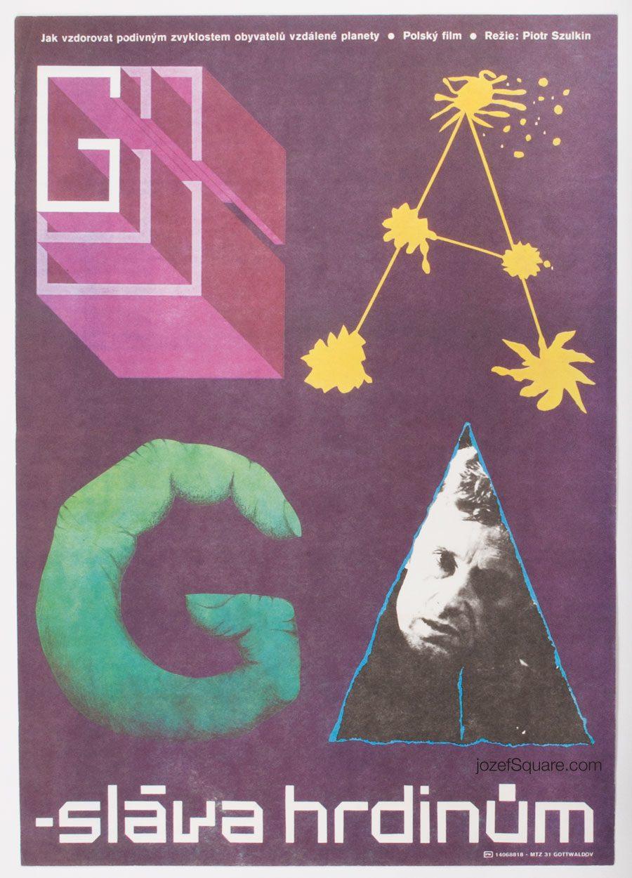 Sci-fi Movie Poster, Ga-ga, Glory to the Heroes, 80s Cinema Art