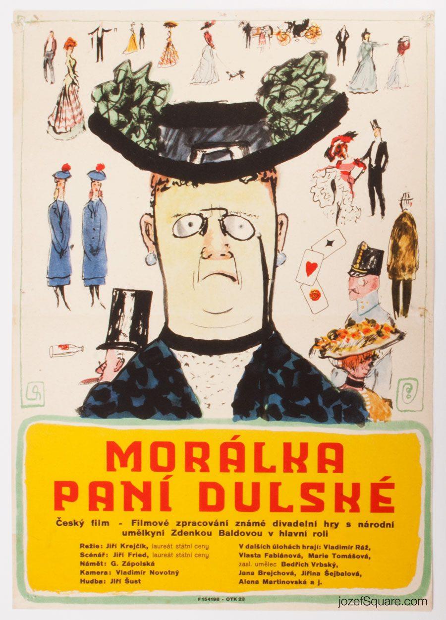 Movie Poster, Mrs. Dulska's Morals, Kamil Lhotak