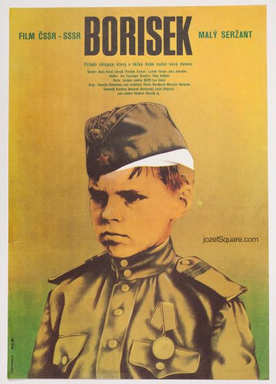 Movie Poster, Little Boris, Miloslav Disman